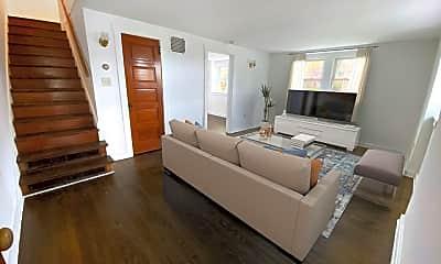 Living Room, 502 Church St, 1