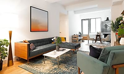 Living Room, 45 Wall St 421, 0
