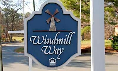 Community Signage, Windmill Way, 1