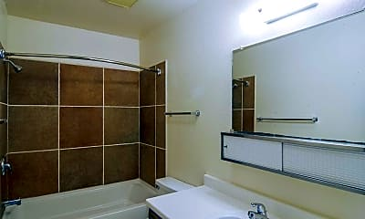 Bathroom, Hilltop House Apts, 2