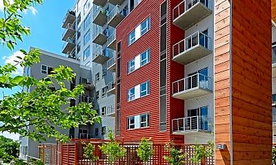 Building, 306 West Apartments, 0