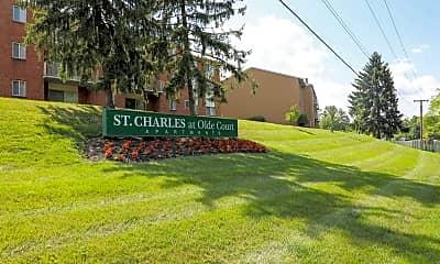 Community Signage, Saint Charles At Olde Court, 0