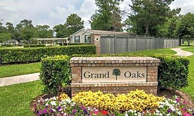 Community Signage, Grand Oaks Homes, 2