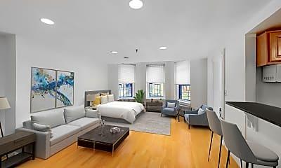 Living Room, 379 Commonwealth Avenue, Unit 1, 0