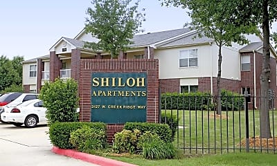 Community Signage, Shiloh, 2
