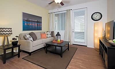 Living Room, Avila Apartment Homes, 2