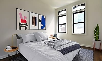 Bedroom, 349 W 45th St, 1