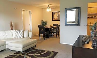 Living Room, Tamarac Apartments, 0