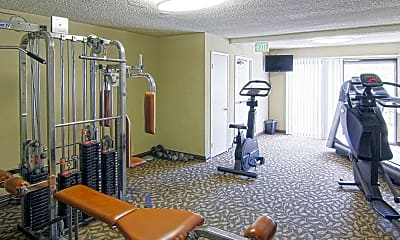 Fitness Weight Room, The Summit, 2