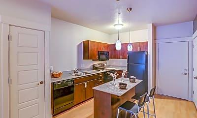 Kitchen, Lotus Apartments, 1