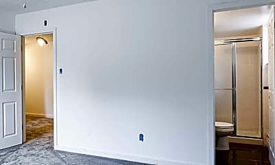 Bedroom, Ridgeview Apartments, 2