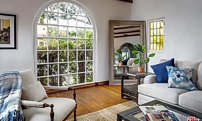 Living Room, 273 S Palm Dr, 1