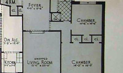 Kitchen, 110-35 72nd Rd, 2