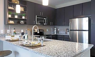 Kitchen, Link Apartments Brookstown, 1