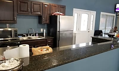 Kitchen, Pecan Creek Apartments, 2
