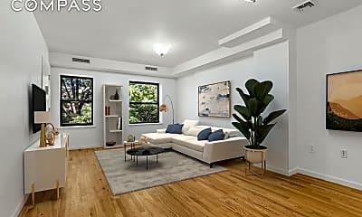 Living Room, 63 W 127th St 3, 0