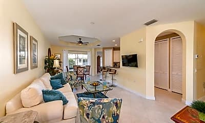 Living Room, 1405 Sweetwater Cove 203, 1