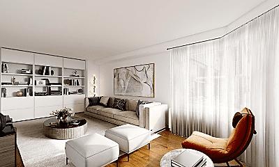 Living Room, 510 E 77th St, 0