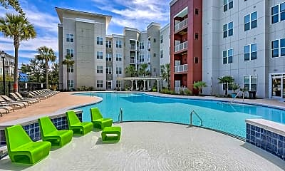Pool, Monarch 544 - Per Bed Leases, 1