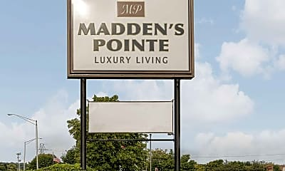 Community Signage, Madden's Pointe Apartments, 2