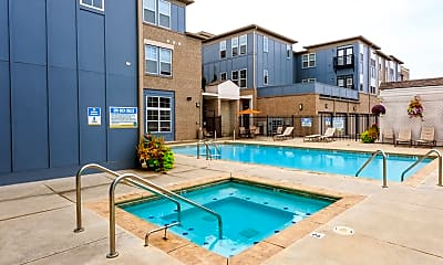 Pool, The Fort Apartments, 1