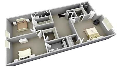 The Fairfax 3d 2nd level.png, 4238 Lennox Drive, 1