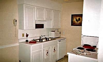 Kitchen, Wildwood Apartments, 2