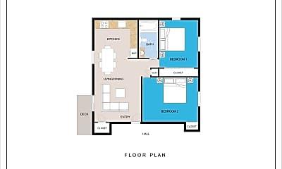 Bedroom, 1 Manor Dr, 2