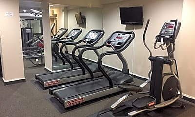Fitness Weight Room, 2700 Connecticut Avenue, NW, 1