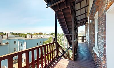 Patio / Deck, 1054 Cambridge Street, Unit 4R, 2