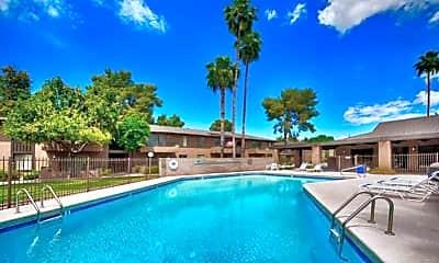 Pool, Tempe Park Place, 1