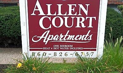 Allen Court Apartments, 1
