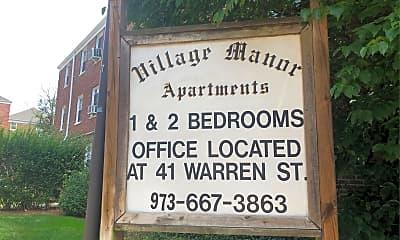 Village Manor Apartments, 1