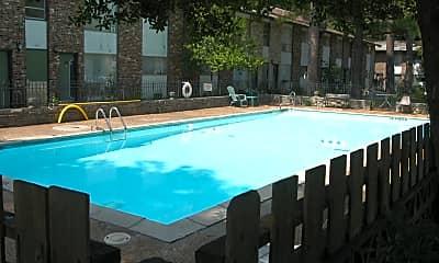 Pool, Mendonwood Apts, 1