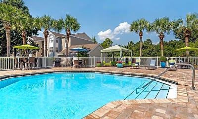 Pool, The Enclave at Huntington Woods, 1