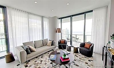 Living Room, 480 NE 31st St 4907, 1