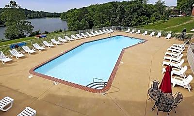 Pool, Park Lake Apartments, 1