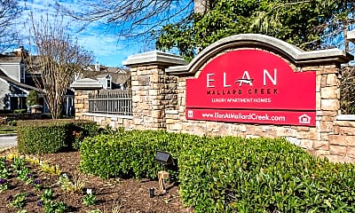 Community Signage, Elan At Mallard Creek, 2