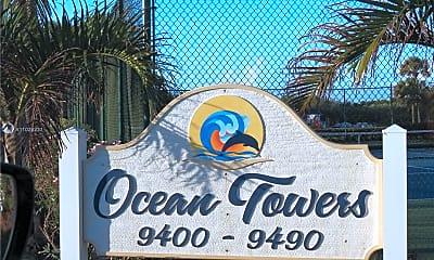 Community Signage, 9490 S Ocean Dr 513, 2