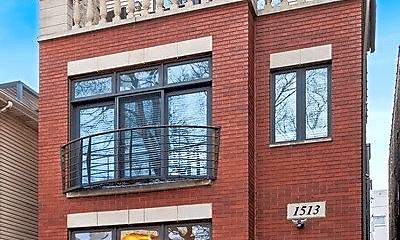 Building, 1513 N Wood St, 1