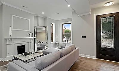 Living Room, 1201 4th St NW A, 1
