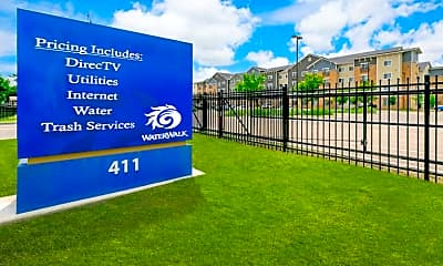 Community Signage, WaterWalk Wichita, 0