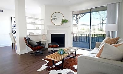 Living Room, The Courts of Bent Tree Townhomes, 0