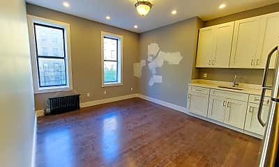 Living Room, 670 W 193rd St 3-C, 0