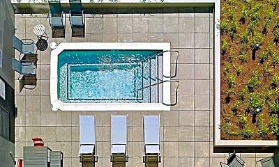 Pool, Evolve Apartments, 2