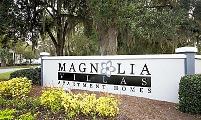 Community Signage, Magnolia Villas, 1