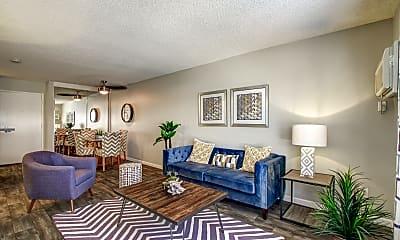 Living Room, Park Regency Club, 0