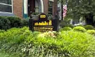 Community Signage, Broadway Management Group, 2