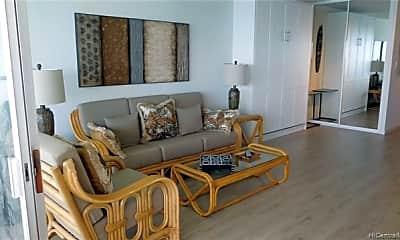 Living Room, 2877 Kalakaua Ave 1202, 1