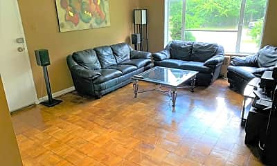 Living Room, 10305 Montrose Ave M-101, 1